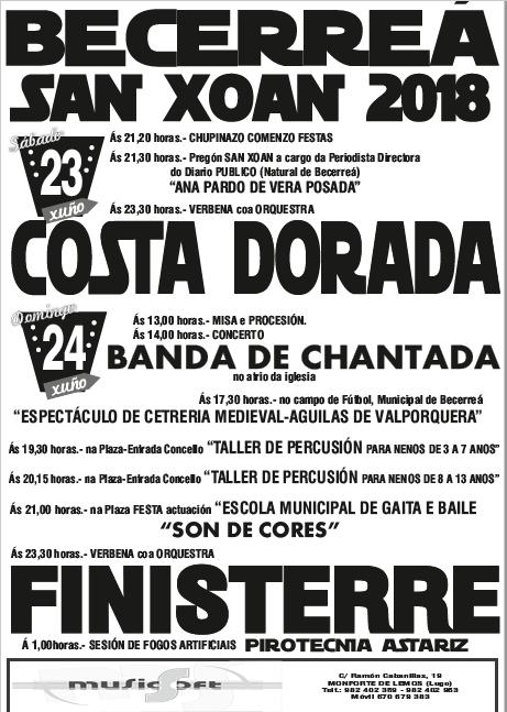 CARTEL-FIESTAS-SAN-XOÁN-DE-BECERREÁ-2018