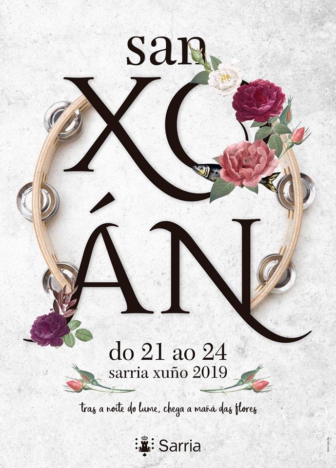 CARTEL FESTAS SAN XOÁN - SARRIA 2019 - MUSICSOFT